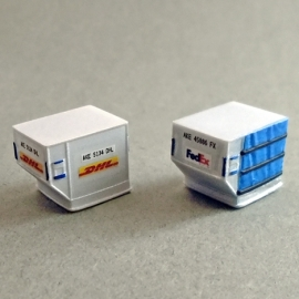 1/144 LD3/AKE container