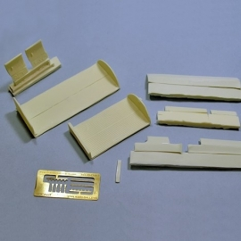 1/144 A320 cargo holds